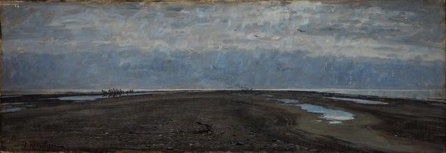 Johan Krouthén - The Skaw Spit, Skagen (1883)