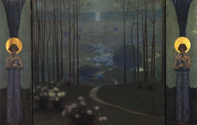 Wilhelm Bernatzik - Entrance to Paradise (1906)