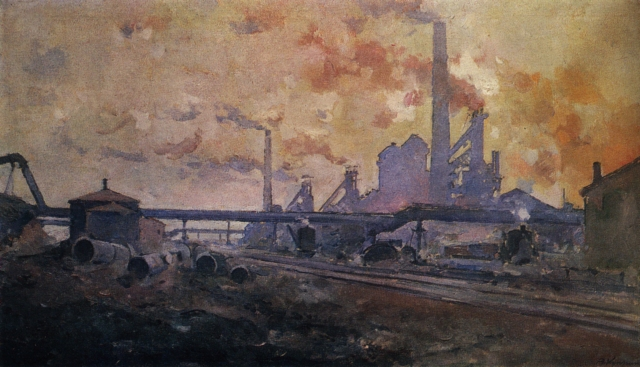 Aleksander Vasilievich Kuprin - G. I. Petrovsky Metallurgy Plant, Dnepropetrovsk (1930)