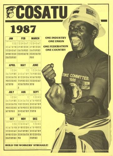 Cosatu - 1987 Calendar