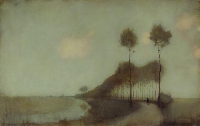 Jan Mankes - Woudsterweg bij Oranjewoud (1912)