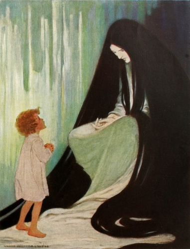 Jessie Willcox Smith - At the Back of the North Wind (1919)