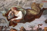 Joseph Anton Koch - Inferno (1825-28) [detail - Paolo and Francesca]