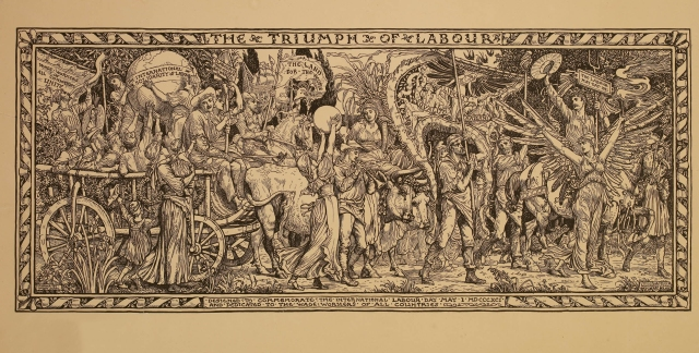 Walter Crane - The Triumph of Labour (1891)