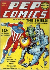 Pep Comics No 1 (Jan 1940) - The Shield