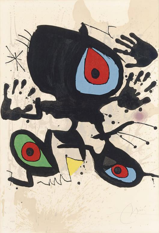 Joan Miro - Homage to Miro (1973)