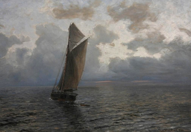 Nils Hansteen - Marine (1893)
