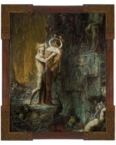 Pierre Amédée Marcel-Béronneau - Orpheus in Hades (1897)