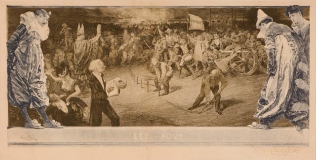 František Kupka - Les Fous (1899)