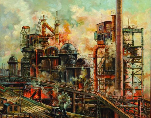 Hans Müller - Duisburg Copper Mill (ca. 1920)
