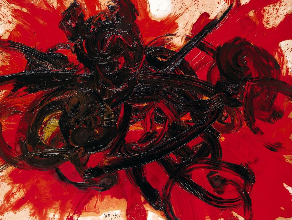 Kazuo Shiraga - Work II (1958)