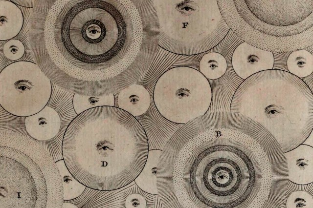 Thomas Wright - An original theory or new hypothesis of the universe (1750) C [detail]