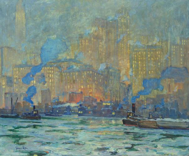 Jonas Lie - Afterglow (1913)