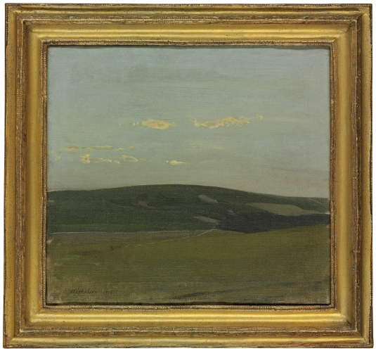 William Nicholson - View of the South Downs (1912)