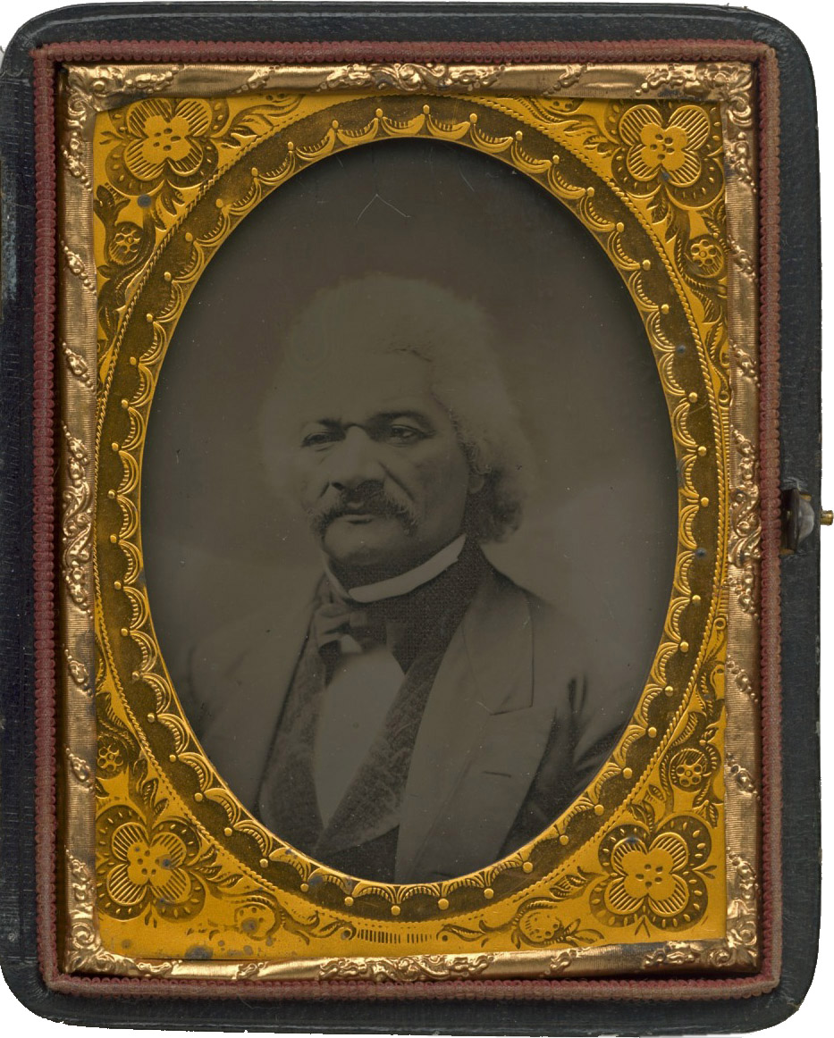 Ambrotype of Frederick Douglass