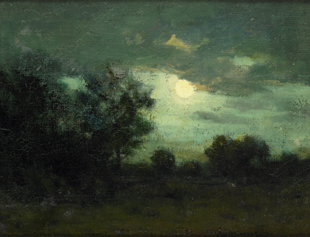 Charles Warren Eaton - Moon over the Forest (c 1895)