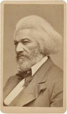Frederick Douglass - carte de visite (c 1876)