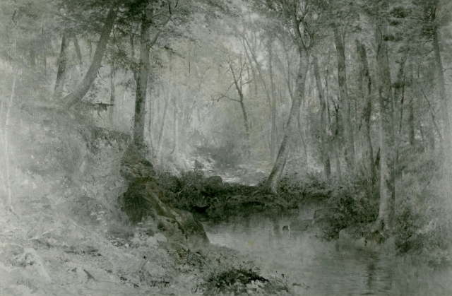 Alexander Wyant - In the Woods (ca. 1875-1876)