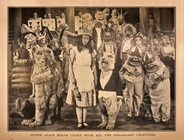 Queen Alice Holds Court with All the Dreamland Creatures - Photoplay Edition (1919)