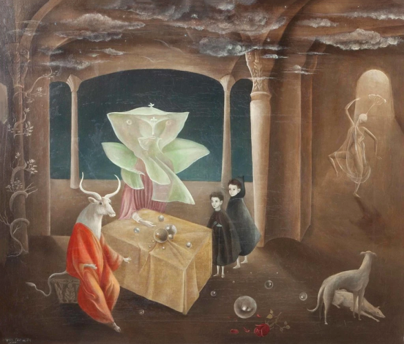 Leonora Carrington - And Then We Saw the Daughter of the Minotaur (1953)