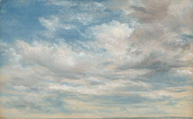 John Constable - Clouds (1822)