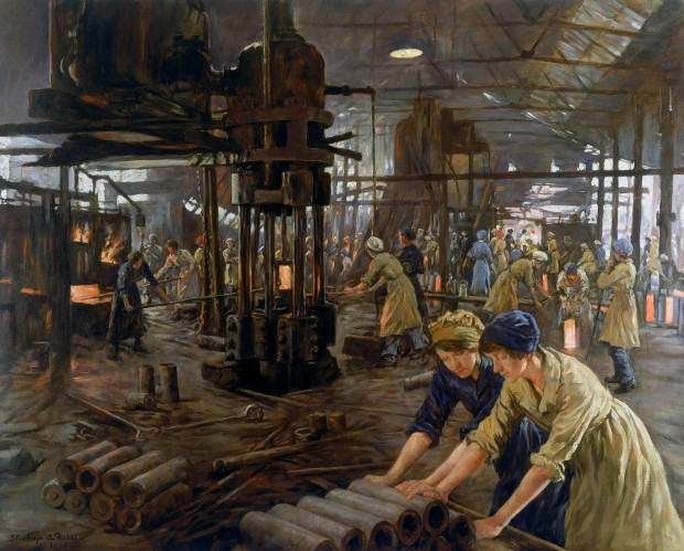 Stanhope Forbes - The Munitions Girls (1918)