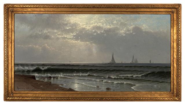 Alfred Thompson Bricher - Seascape (1874)