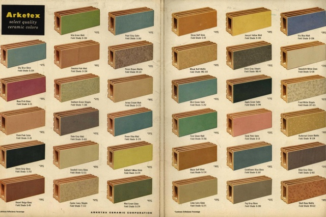 Arketex Ceramics Corporation Catalog (1957)