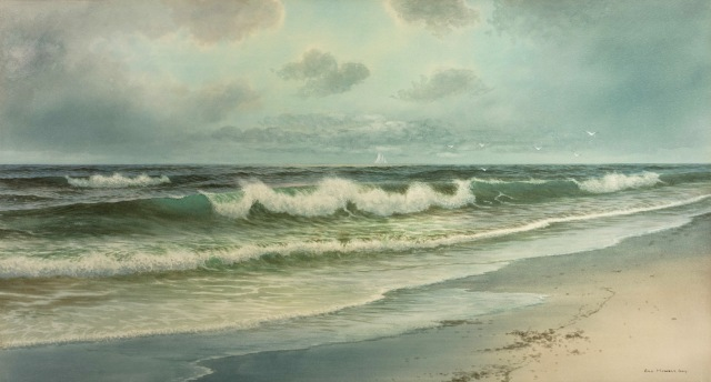 George Howell Gay - Surf, Long Beach, Rockport