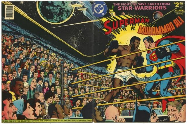 Neal Adams - Superman vs Muhammad Ali (1978)