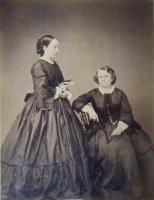 Nathalie Micas and Rosa Bonheur (1864)