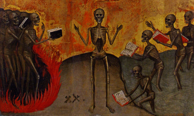 Jacobello Alberegno - Polyptych of the Apocalypse (c 1390) [detail]