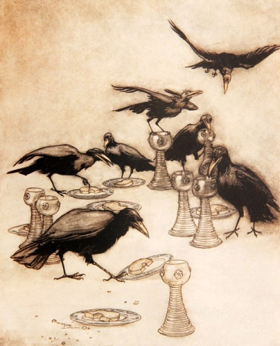 Arthur Rackham - Fairy Tales of the Brothers Grimm (1909 edition)