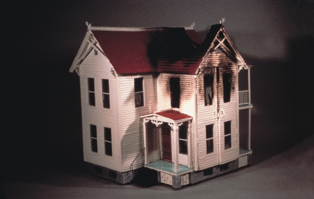 Robert Gober - Burnt House (1980)