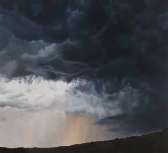 April Gornik - Big Storm Light (2016)