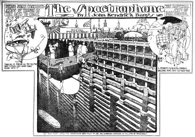 Winsor McCay - The Spectrophone - Philyorgo (Los Angeles Herald, March 4, 1906)