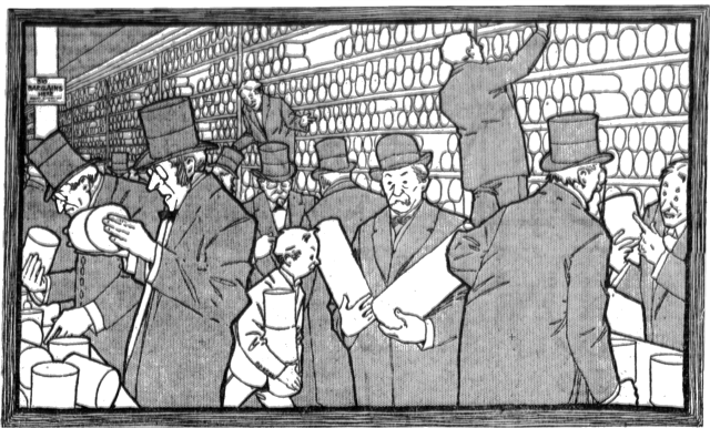 Winsor McCay - The Spectrophone - The After-Dinner Trust (Los Angeles Herald, March 5, 1905)